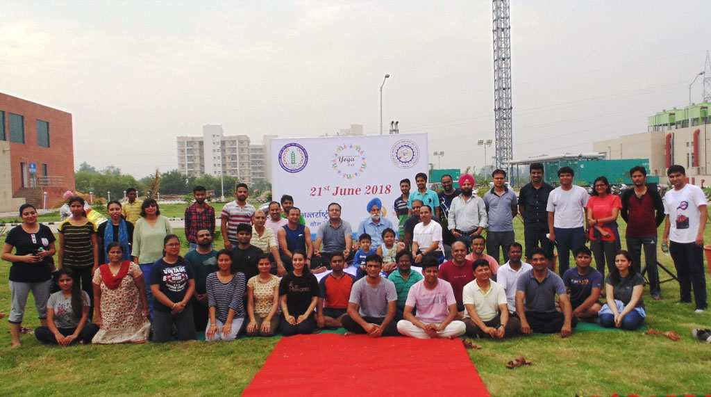 Celebration of 4th International Day of Yoga at NABI-CIAB